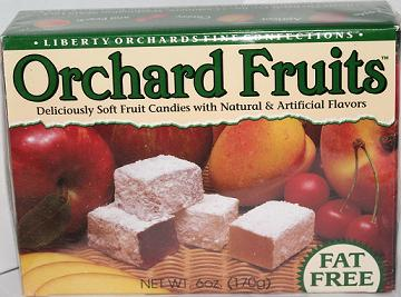 Click to view more Orchard Fruits Aplets - Cotlets
