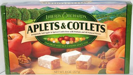 Aplets & Cotlets 8oz. - Click To Enlarge