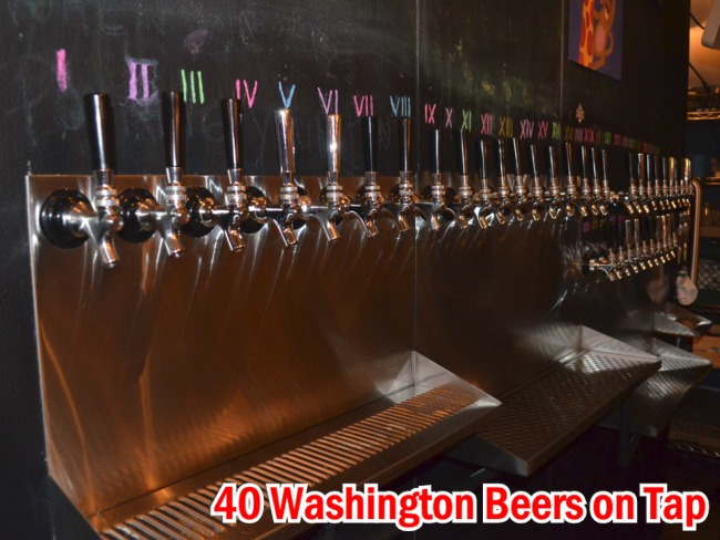 Local Boys Taproom Features 40 Beers on Tap