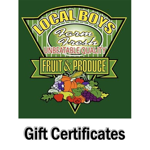 Click to view more Gift Certificates Seasonal Holiday Items