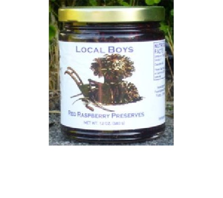 Click to view more Red Raspberry Homemade Preserves